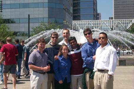 This page has some of the great friends I've met while working at Intel in Portland, Oregon.  Here is (from left to right) Adam, Dean, Sarah, Dan, Madhu, and Dan (and an extra person?)
